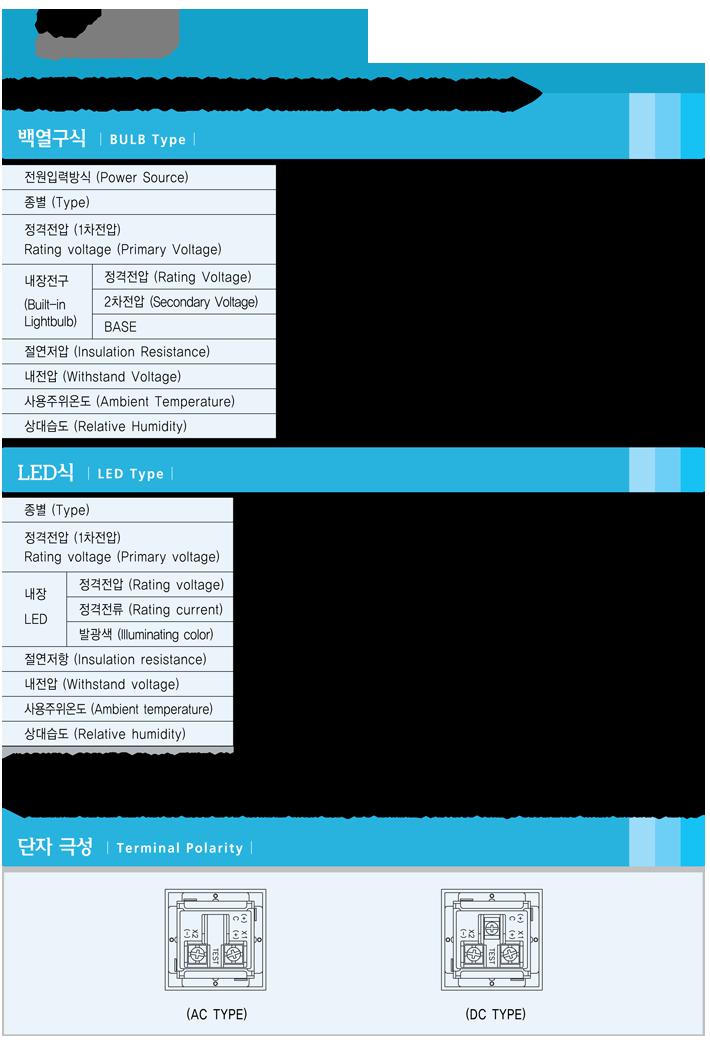韓國龍聲YONGSUNG光字牌YSSL33系列選型手冊