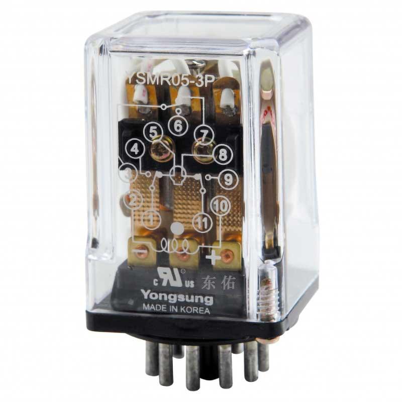 控制繼電器YSMR05-3P 220DS