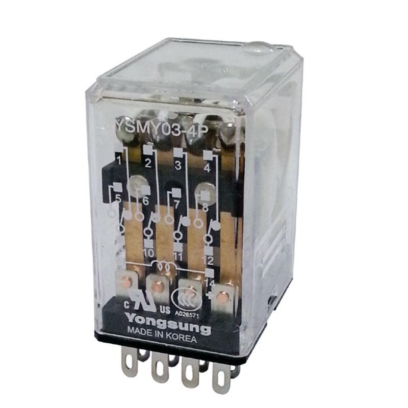 中間繼電器YSMY03-4P DC220V